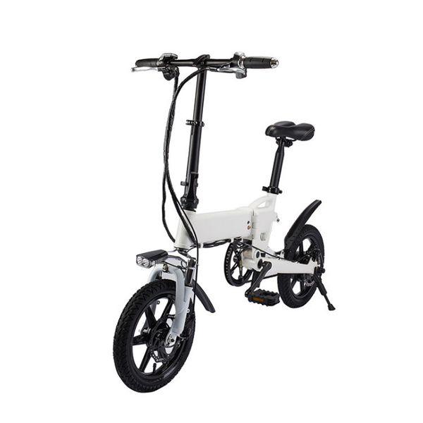 Електрическо колело сгъваемо модел ON E-bike бял гр. Хасково - image 1