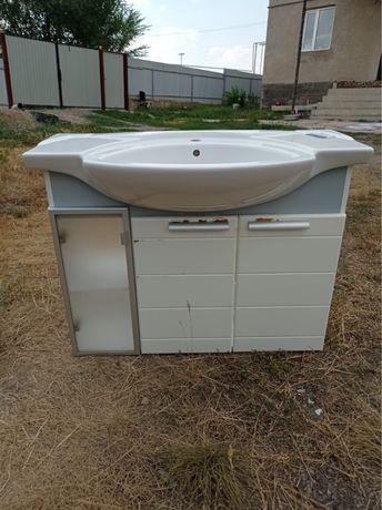 Ваннага шкаф раковинамен