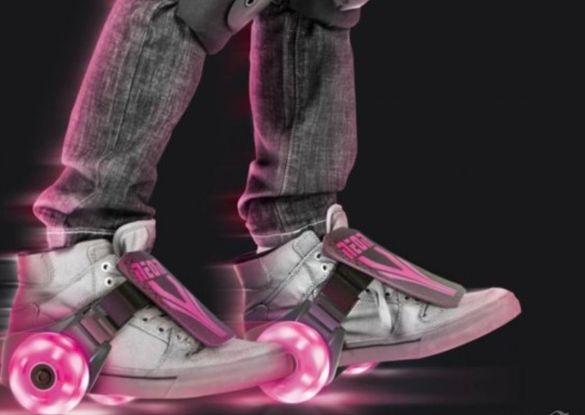 Светещи колела с LED светлини