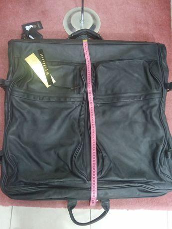 Чанта от естествена кожа голяма куфар Picard
