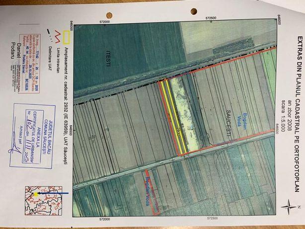 Intravilan CONSTRUIBIL 0,83 ha, B Voda, Bacau E85, intersectie centura