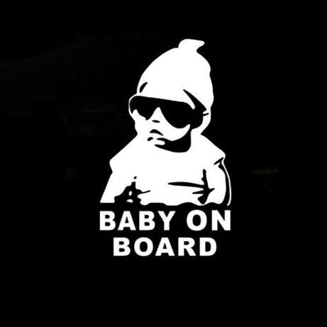 """стикер """"Baby On Board"""""""