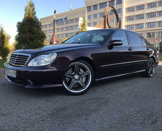 Обвес AMG для Mercedes в W220 кузове