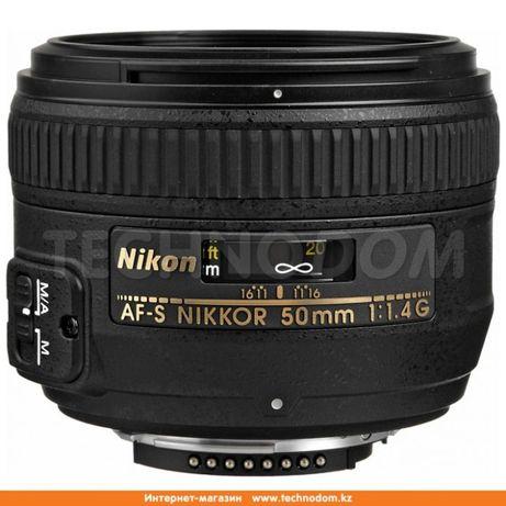 Объектив Nikon NIKKOR 50mm f/1.4G
