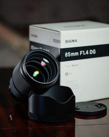 Sigma 85mm 1.4 ART(Canon)