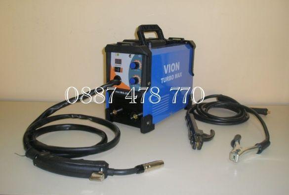 Мини Телоподаващо и Електрожен TURBO MAX MIG/MMA 230 Ампера 24963