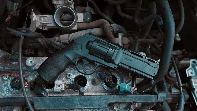 Revolver AIRSOFT HDR T4E=>Bile de cauciuc/20 jouli/Cal.50
