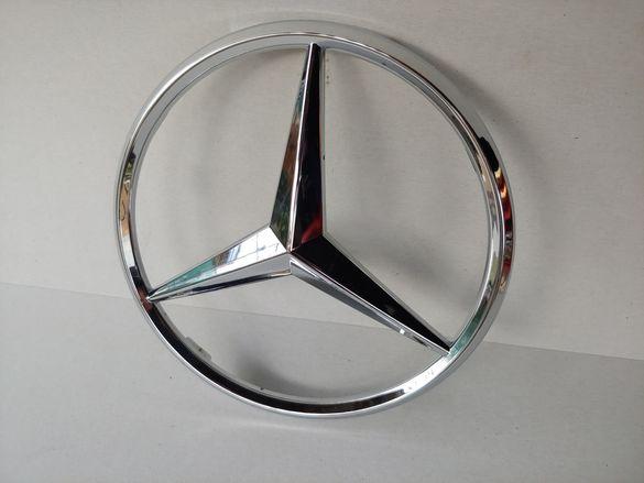 185мм Предна емблема за решетка на Мерцедес Mercedes-Benz Avantgarde
