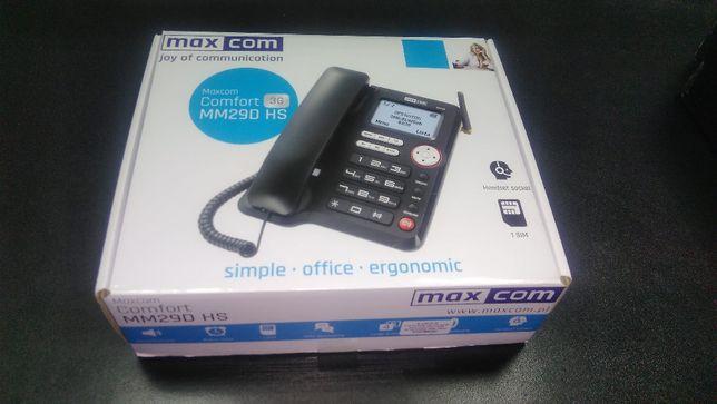 Telefon fix MaxCom Comfort MM29D 3G,Black,liber de retea