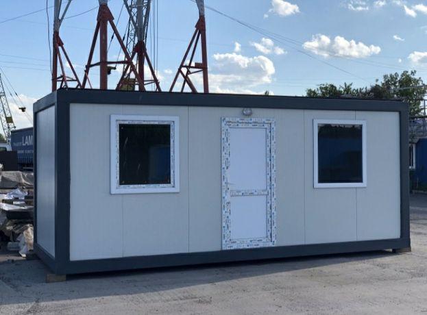Container birou santier cabina de pază de depozitare de locuit santier
