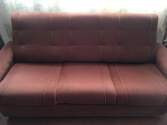 Холова гарнитура- диван, 2 фотьойла, 2 табуретки