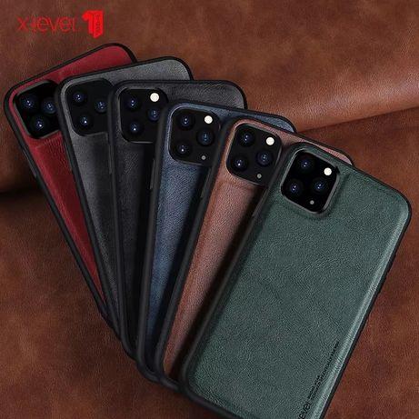Iphone 12 / MINI / PRO /MAX - Husa X LEVEL Din Silicon Imitatie Piele