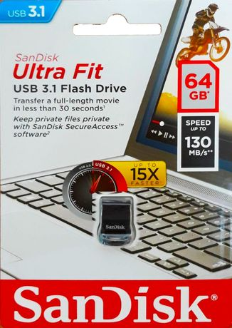 USB Sandisk ultra fit 3.1 - 64 и 128