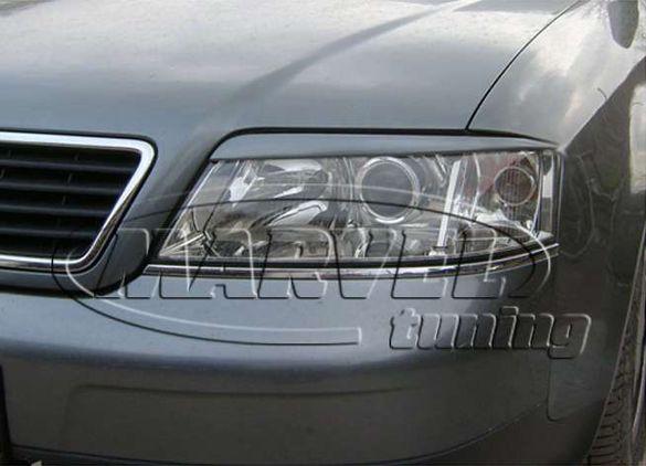 вежди фар (бленди фар) за Audi A6 C5 ( Ауди А6 Ц5 )