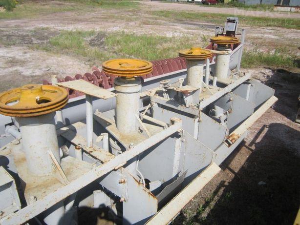 Опытно-промышленные флотомашины ФМ 0,2 2 кам