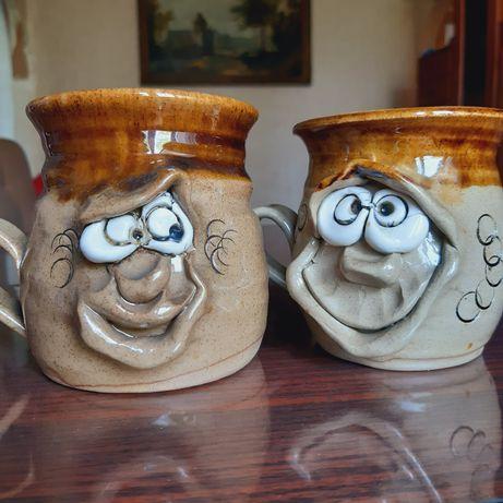 Керамические весёлые чашки