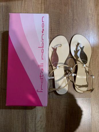 Sandale din piele naturala
