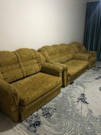 Мягкая меьель  раскладной диван