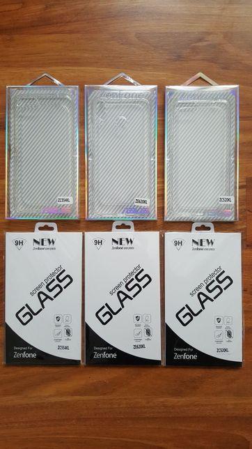 HuseSiliconFoliiSticla Asus ZenFone ZE620KL ZC520KL ZC554KL Huawei P20