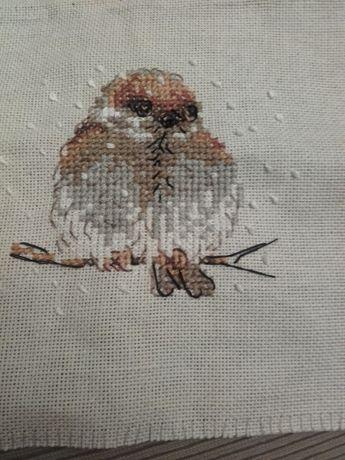 Гоблен малък врабче птичка