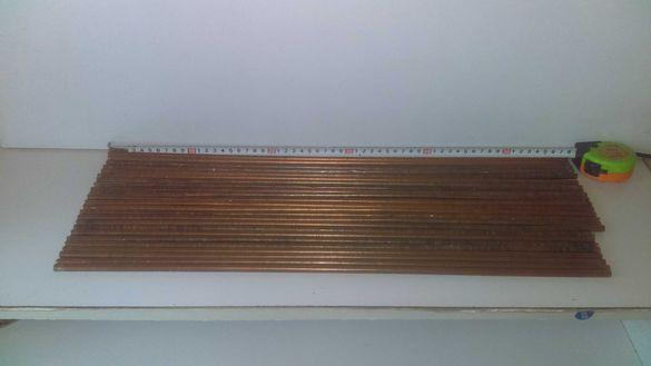 Медни тръбички - различен размер