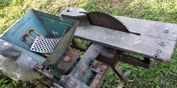 Фуражомелка и резачка за дърва комбинирани