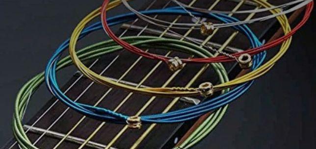Продам струны на гитару штучно по 500 тенге