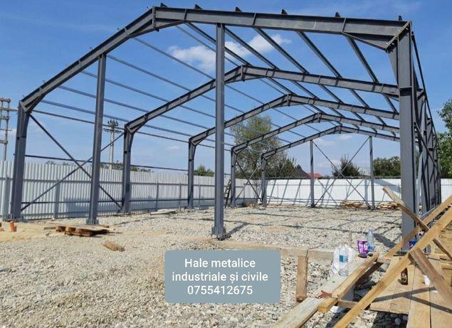 Hale si structuri metalice cu diverse marimi si forme 10x15