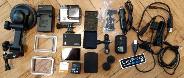 goPro Hero 3 Black Edition 4k - Kit nou cu multe extra - la cutie
