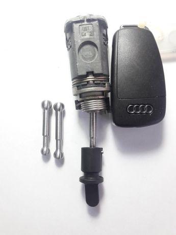 Накрайник за ключалката на Audi A1, A3,A4,A6,A8 за заключване с ключ