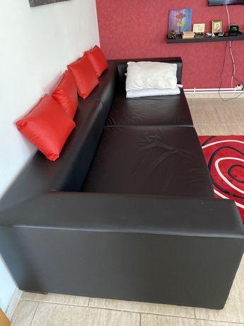 Canapea modulara imitatie piele