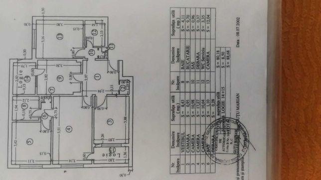 Vand / schimb apartament 4 CAMERE la 6min metrou N Grigorescu