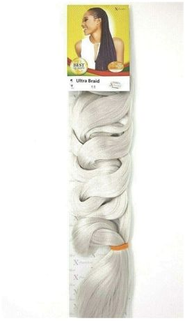 Extensii X-Pression Ultra Braid White