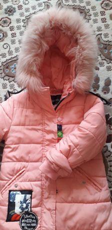 Продаю детскую зимнюю куртку для девочки