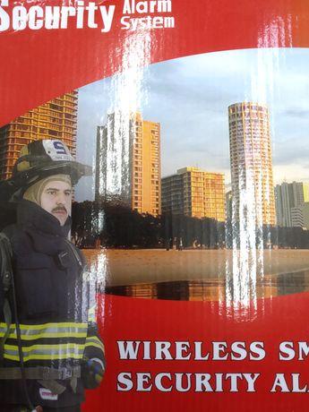 GSM сигнализация для сейфов, гаражей, дачь, с датчиками движения.