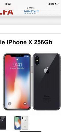 Продам Iphone X,256Gb black