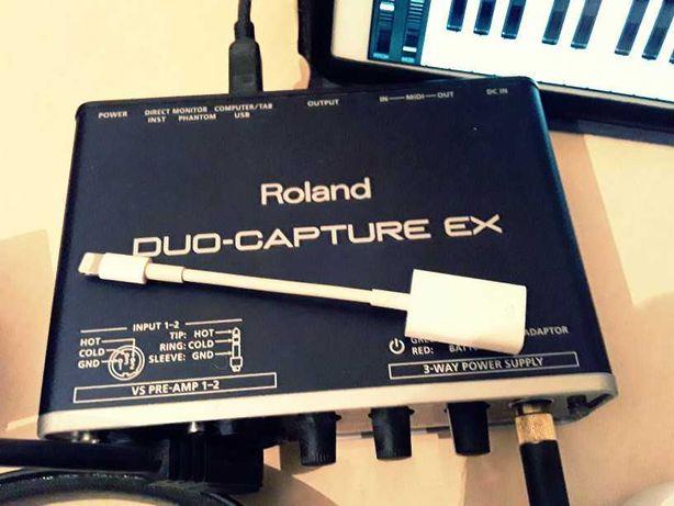 Roland DUO-CAPTURE EX (UA-22) - USB Аудиоинтерфейс/Звуковая/Аудиокарта