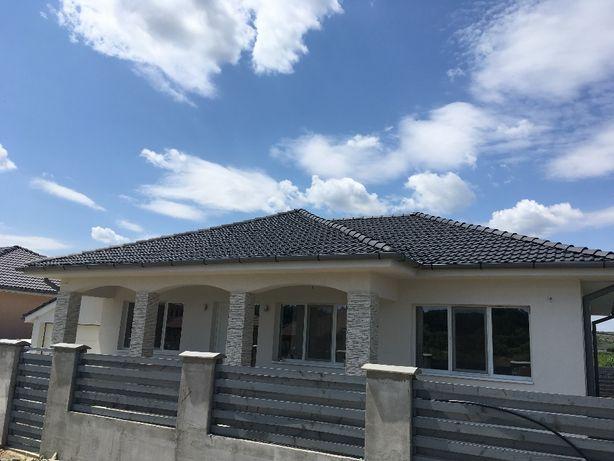 Casa noua in Jucu stil mediteranean cu Teren de 500mp