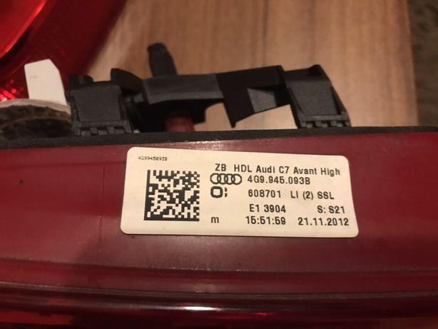 Stop portbagaj LED A6 C7 Avant