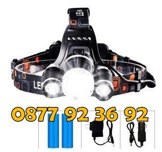 ТРОЕН LED челник, фенер за глава, прожектор, модел: BL-3000