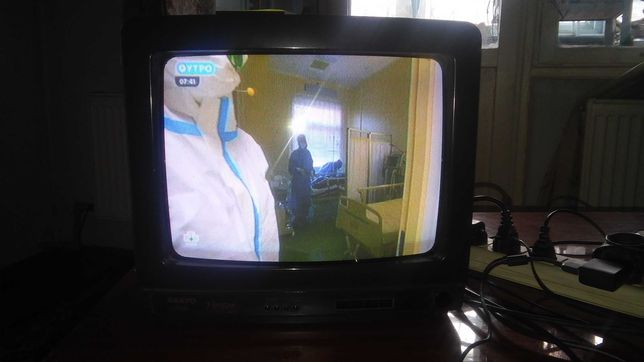 Продаю телевизор SANYO. Оригинал. Диагональ 37 см. или меняю на сотку