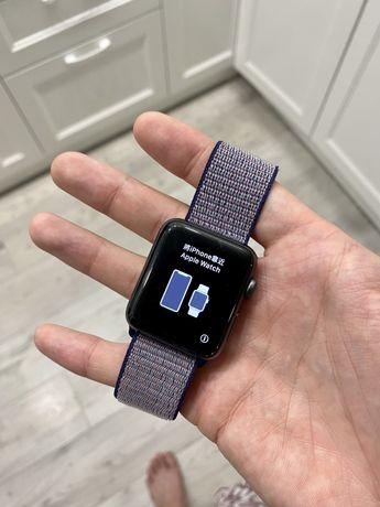  Apple Watch 3 series 42 mm (эпл вотч, фитнес браслет, смарт часы)