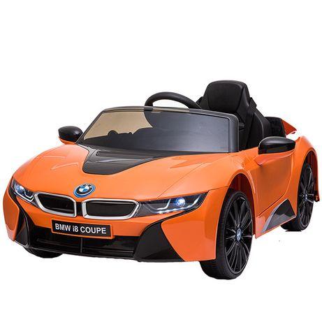 Masinuta electrica pentru copii BMW i8 12V Coupe STANDARD #Orange
