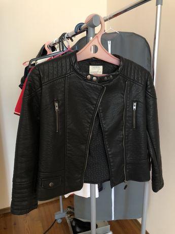 Новая кожаная куртка Zara для девочки 152 рост