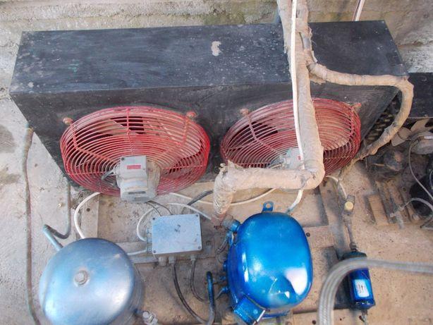 agregat frigorific trifazic Siemens si suflanta