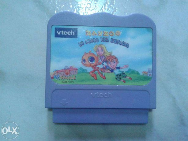 Casete cu jocuri Vtech Vsmile in lb. spaniola -