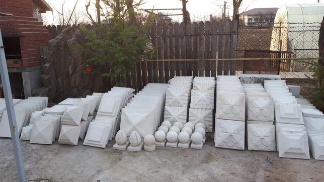 Capac/palarii /coame-intervale stalp gard din beton