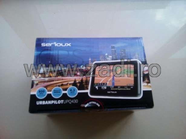 "GPS Serioux-ecran 4.3""-garantie 3 ani/program tir - harti toata europa"
