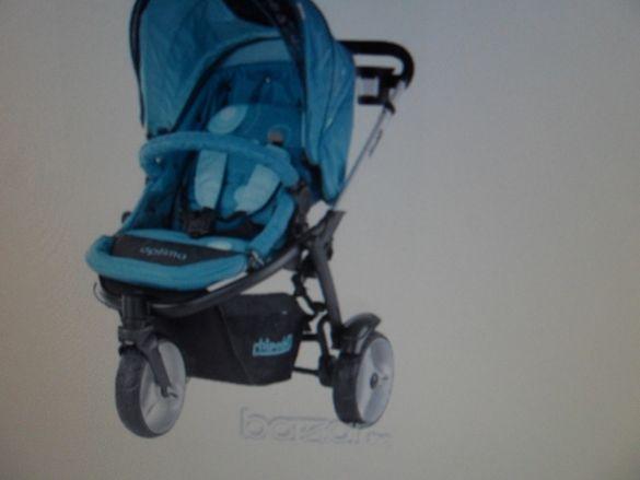 продавам детска количка за момче-зимна