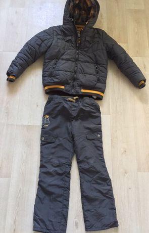 Детская утеплённая куртка и штанишки LC WAIKIKI на 7-8 лет